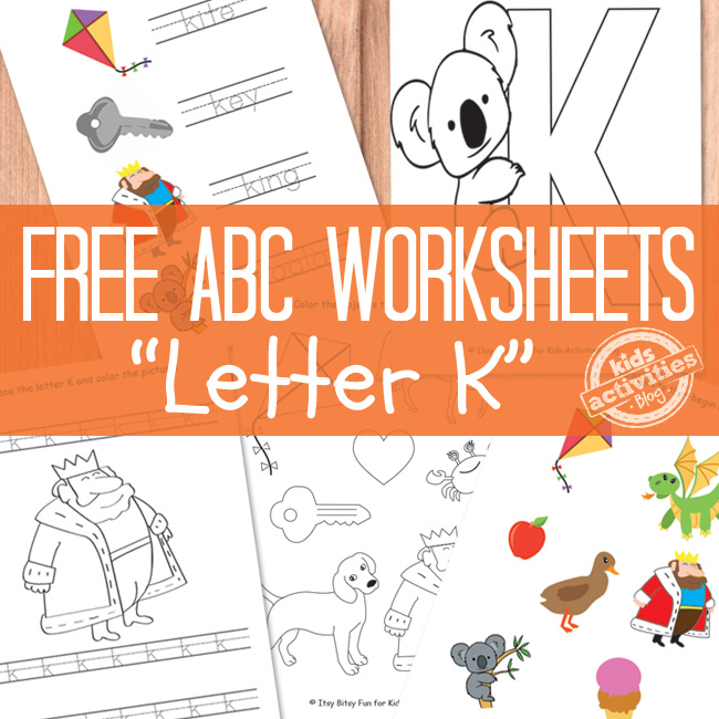 Letter K Worksheets Free Prinable