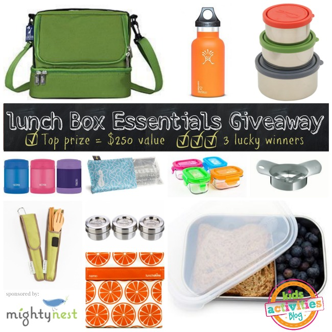 MightyNest Lunch Box Essentials Giveaway