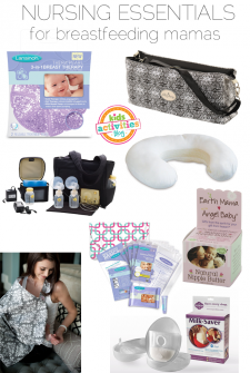 9 Nursing Essentials for the New Mommy