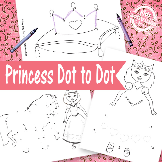 Princess Dot to Dot