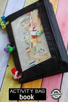 12 Activity Bag Book Ideas for Kids