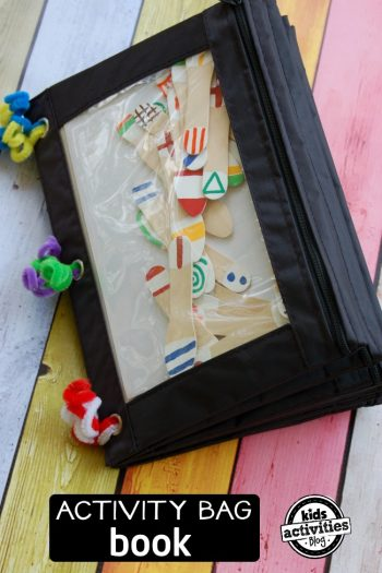 activity bag book
