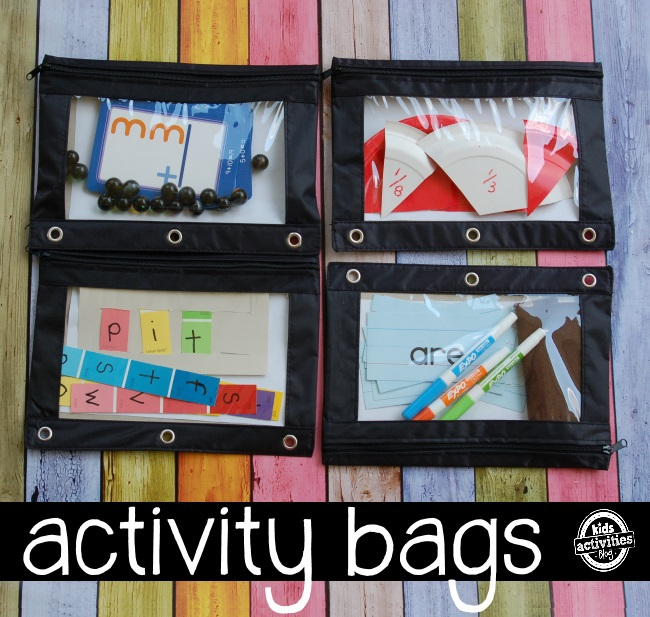 activity bag book