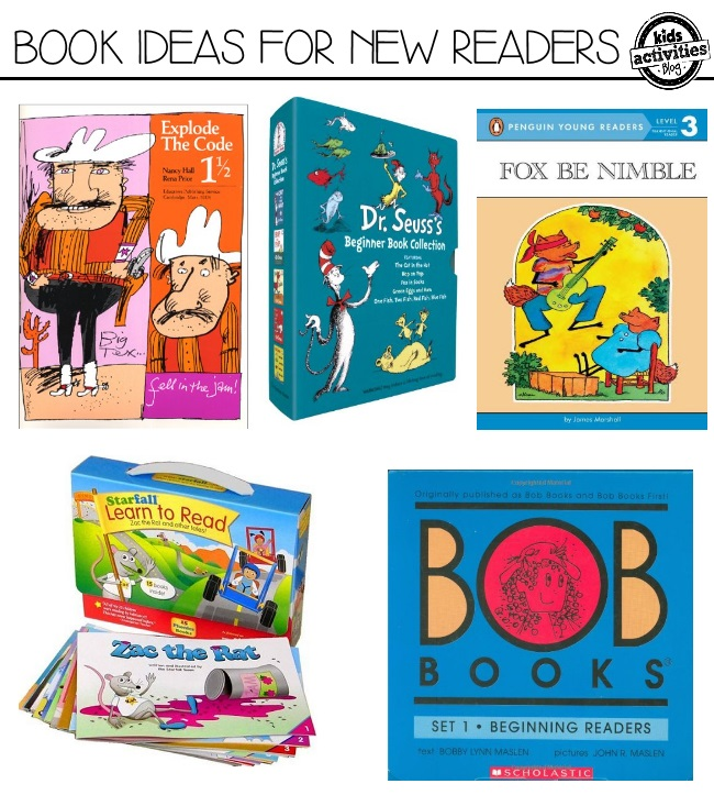 book ideas for new readers