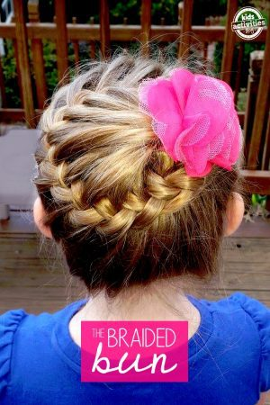 how to make a braided bun