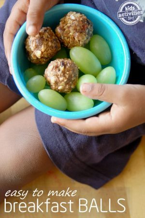 easy to make breakfast balls