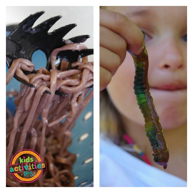 edible mud sensory activity