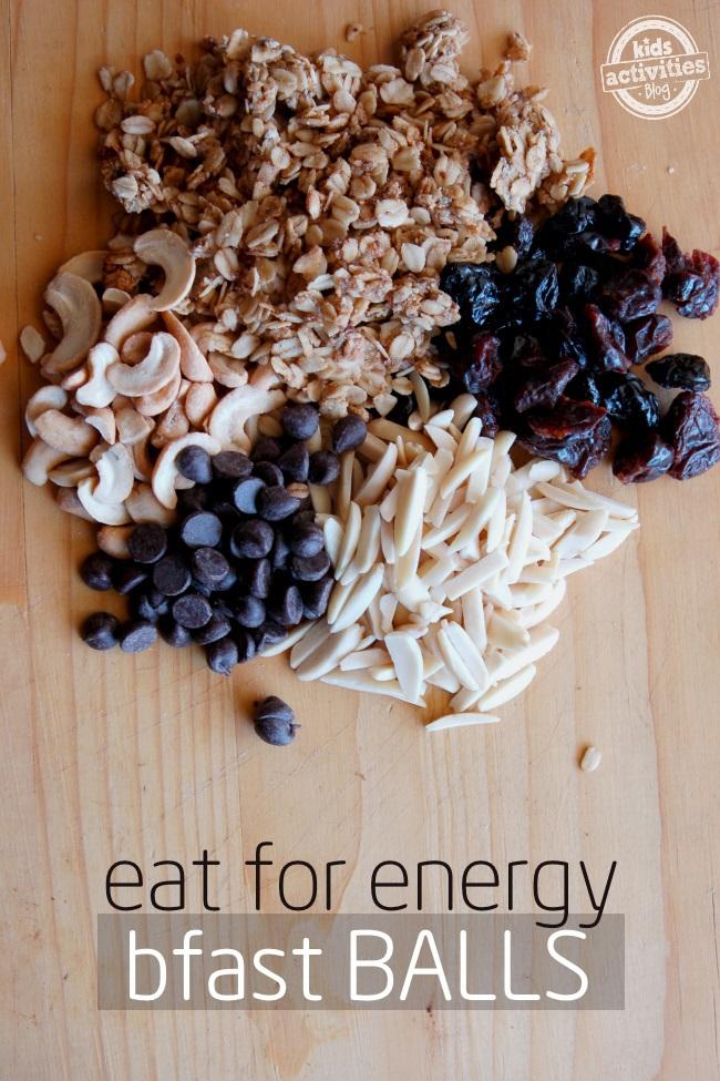 energy breakfast balls