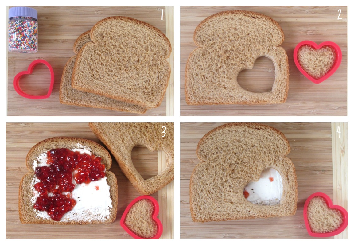 To Make A Fairy Sandwich Simply Use Your Cookie Cutter Once On One Slice Of Bread Spread Fillings The Other And Place Top