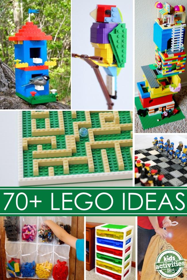 70+ Lego ideas