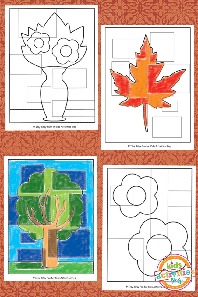 Abstract Coloring Pages Free Kids Printable