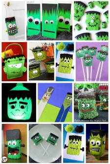 25 Frankenstein Crafts & Recipes for Kids