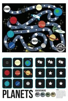 {Stars & Planets} Free Printable Game