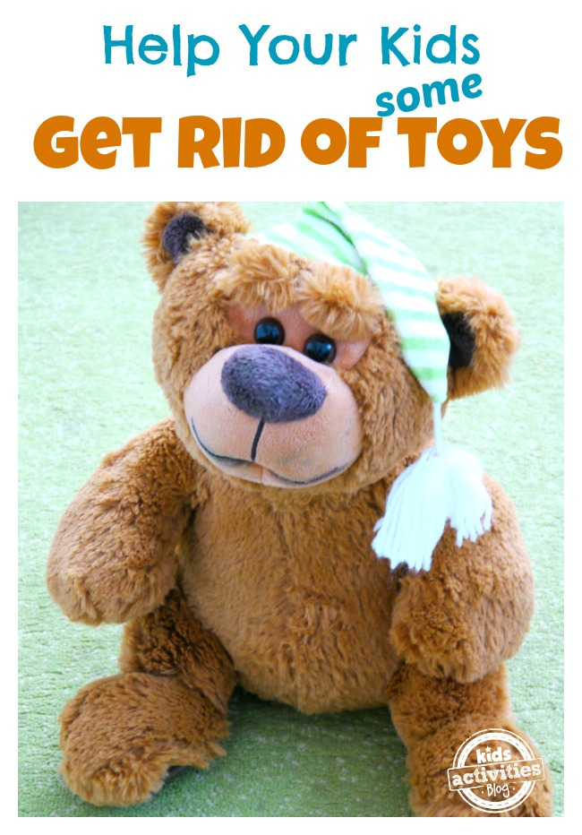 how to get rid of toys
