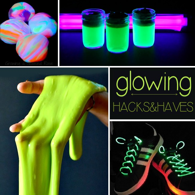 25 glow in the dark hacks and must haves