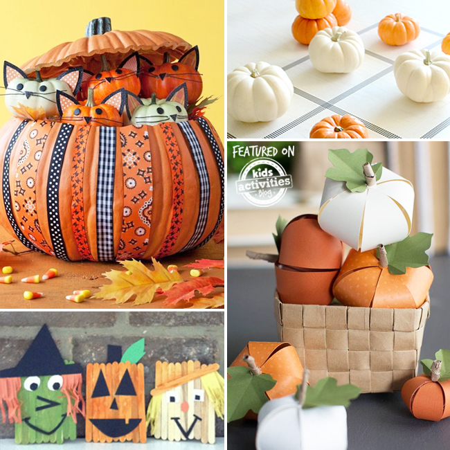 kids pumpkin activities
