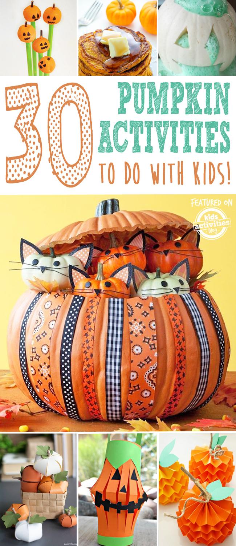 kids pumpkin activities