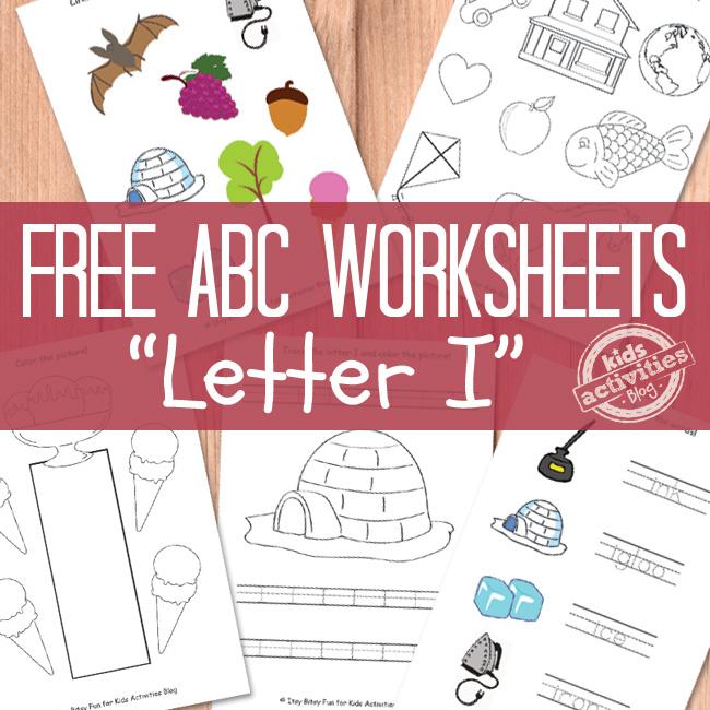 Letter I Worksheets Free Kids Printable – Letter I Worksheets