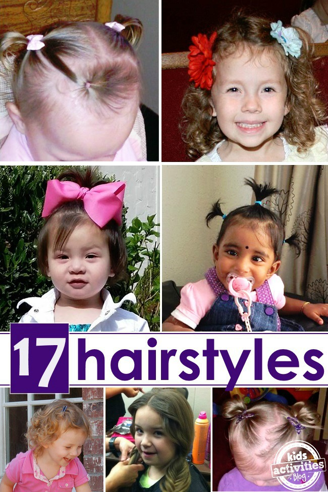 little girls hair ideas