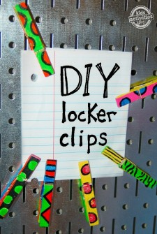 locker clips a craft for middleschool kids