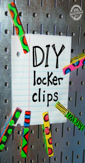 Locker Clips A Middleschool Craft