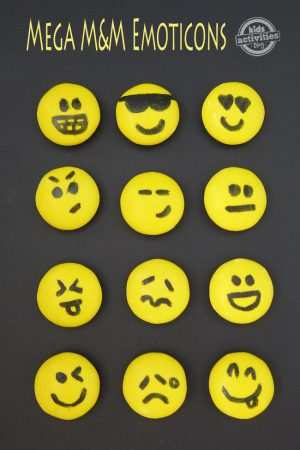 Mega M&M Emoticons
