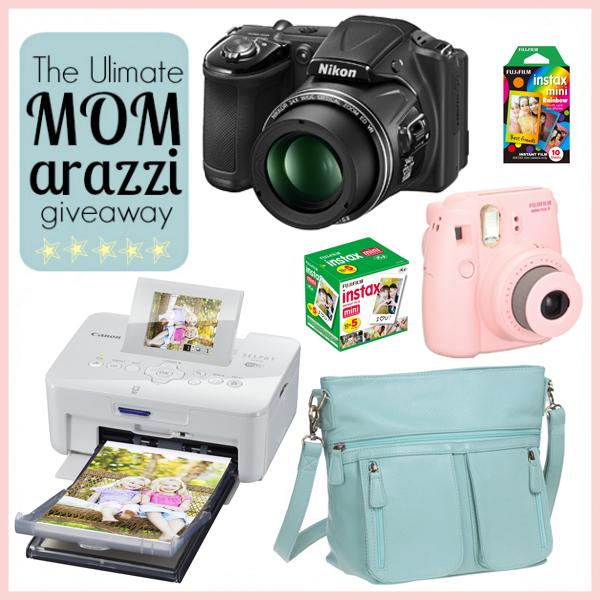 Mom-arazzi giveaway