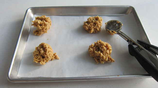 peanut butter and honey rice krispie treats