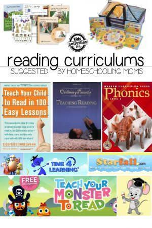 reading curriculums featured