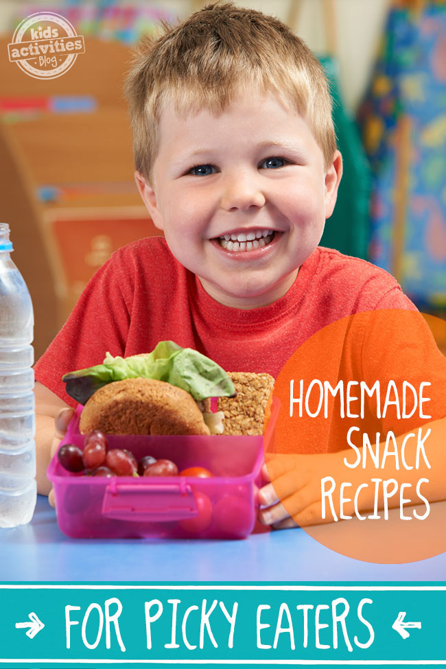 homemade snack recipes for picky eaters