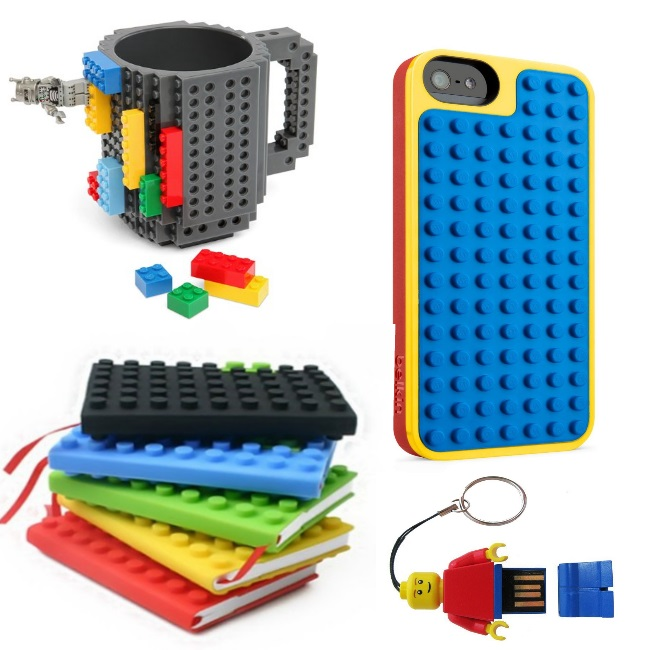 totally geeky lego products