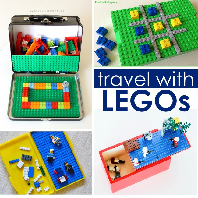 traveling hacks - bring legos
