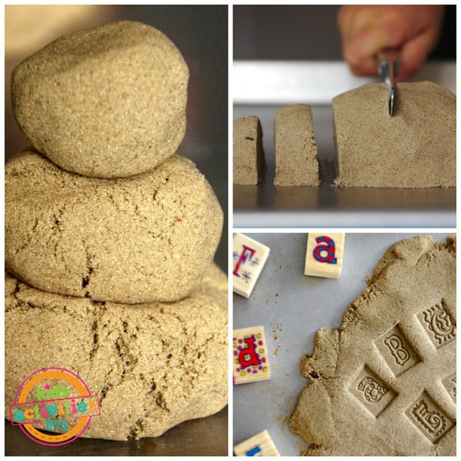 1-kinetic sand play ideas kids 2