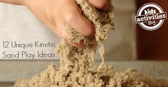 12 kinetic sand play ideas