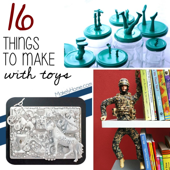 16 wacky things you can create out of old toys