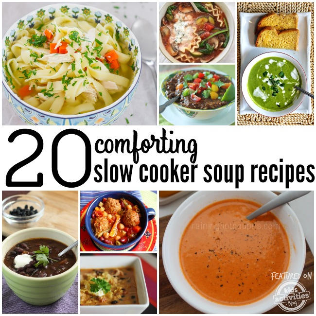 20 comforting crock pot soup recipes