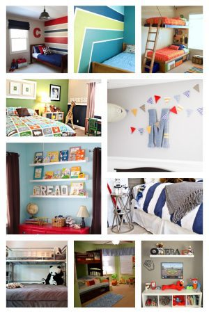 20 Boys Room Ideas from Moms