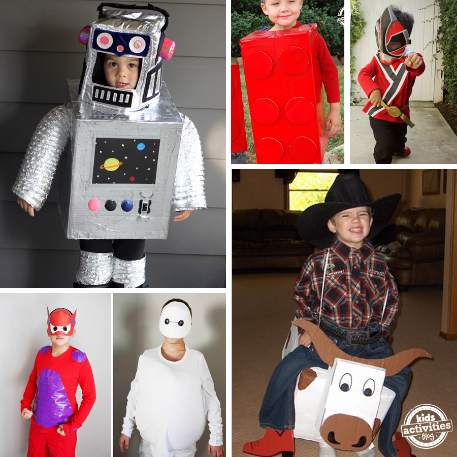 15+ Awesome DIY Halloween Costumes for Boys