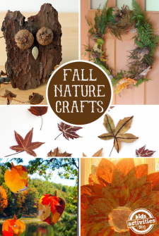 Fall Nature Crafts