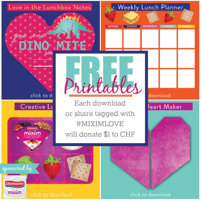Free Lunchbox Printables - Kids Activities Blog