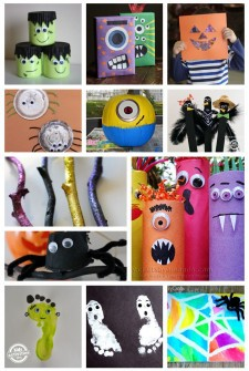 HUGE List of Halloween Crafts {125 Ideas!}