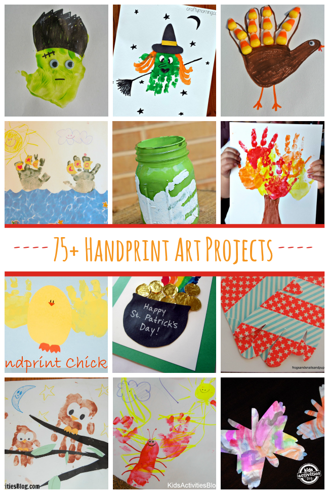 75+ Handprint Art Projects