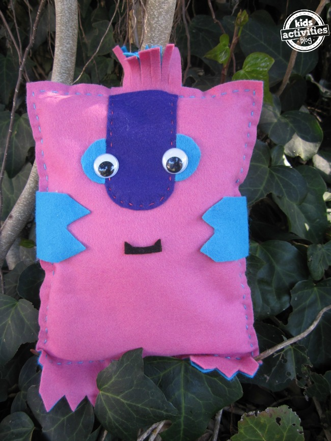 Zenkidu A Simple Hand Sewing Project To Make With Your Kids