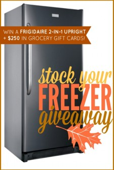 Stock Up Your Freezer Giveaway Worth Over $1200