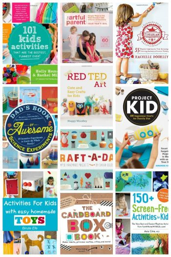 Never Bored - 10 Amazing Kids Activities Books