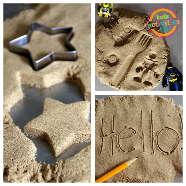 Kinetic Sand Play Ideas