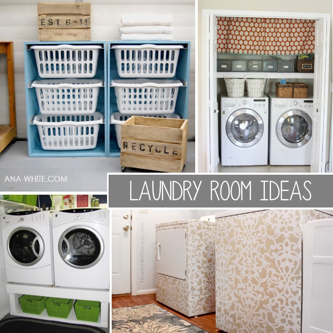 TONS od Laundry Room ideas