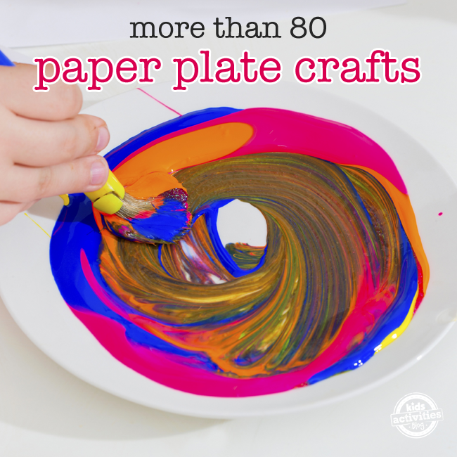 80 paper plate crafts for kids for Paper plate craft images