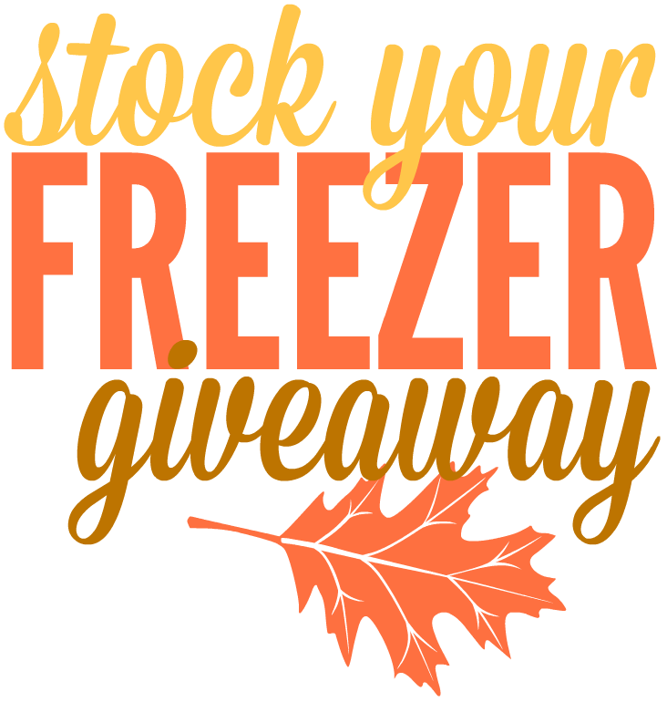 Stock Your Freezer Giveaway Graphic 1