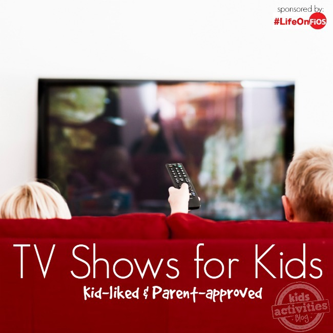 TV Shows for Kids - kid liked and parent approved - Kids Activities Blog